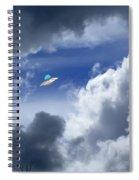 Cloud Surfing Spiral Notebook