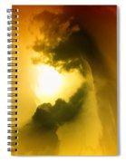 Cloud Whirl Spiral Notebook
