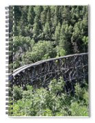 Cloudcroft Railroad Trestle Spiral Notebook