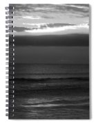 Clouded Sunrise Spiral Notebook