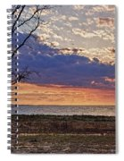 Clouding Up On Oyster Bay Spiral Notebook