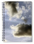 Clouds 1 Spiral Notebook