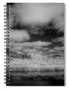 Clouds Above Klamath Spiral Notebook
