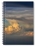Clouds Above The Clouds Spiral Notebook