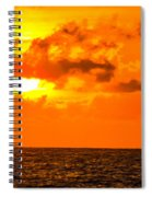 Clouds And Sun Play  Spiral Notebook