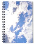 Clouds And Sunshine Spiral Notebook