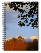 Clouds Clearing Spiral Notebook