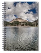 Clouds Form Over Lake Helen Spiral Notebook