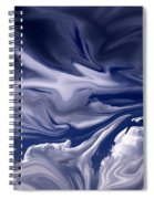 Clouds In Chaos Spiral Notebook