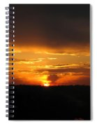 Clouds In Control - Featured In Harmony And Happiness And Newbies Groups Spiral Notebook