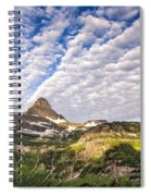 Clouds In Glacier Spiral Notebook