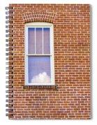 Clouds In My Window Spiral Notebook
