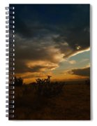 Clouds In New Mexico Spiral Notebook