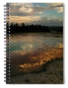 Clouds In The Water Spiral Notebook