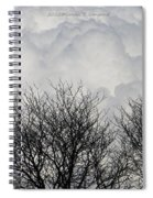 Clouds Named Cotton Spiral Notebook
