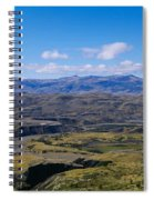 Clouds Over A Mountain Range, Torres Spiral Notebook