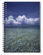 Clouds Over Bora Bora Spiral Notebook