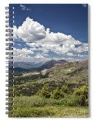 Clouds Over Crested Butte Spiral Notebook