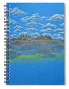Clouds Over Lassen Spiral Notebook