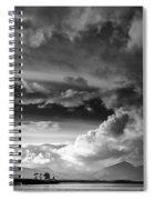 Clouds Over Loch Laich Spiral Notebook