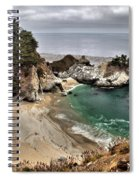Clouds Over Mcway Spiral Notebook