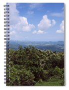 Clouds Over Mountains, Flores Island Spiral Notebook