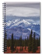 Clouds Over Mountains Spiral Notebook