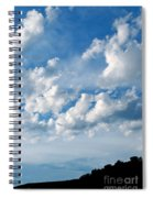Clouds Over New Mexico Spiral Notebook