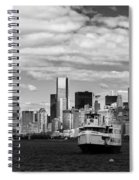 Clouds Over New York Spiral Notebook