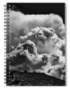 Clouds Over Santa Fe Spiral Notebook