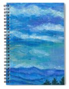 Clouds Over The Blue Ridge Spiral Notebook