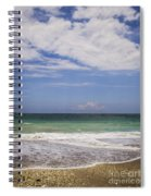 Clouds Over The Ocean Spiral Notebook