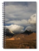 Clouds Over The Organ Mountains Spiral Notebook