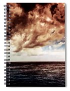 Clouds Over The Water Spiral Notebook