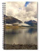 Clouds Over Wakatipu #1 Spiral Notebook
