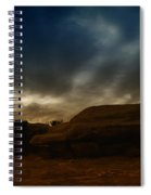 Clouds Scape Spiral Notebook