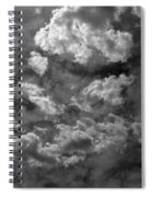 Angry Clouds Spiral Notebook