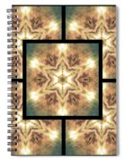 Cloudscape Fire Page Spiral Notebook