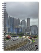 Cloudy Atlanta Capital Of The South Spiral Notebook