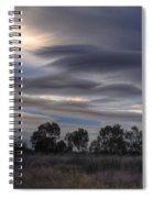 Cloudy Day 4 Spiral Notebook