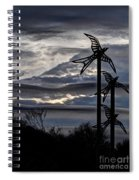 Cloudy Day 8 Spiral Notebook