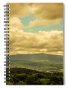 Cloudy Day In New Hampshire Spiral Notebook
