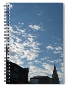 Cloudy In Cleveland Spiral Notebook