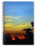 Cloudy Morning In Fort Lauderadale Spiral Notebook