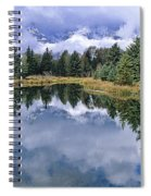 Cloudy Reflection Spiral Notebook