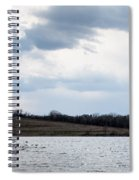 Cloudy Spring Day Spiral Notebook