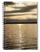 Cloudy Sunrise Spiral Notebook