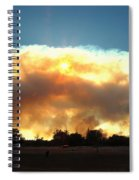 Clover Fire At 5 25 Pm Spiral Notebook