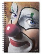 Clown Mural Spiral Notebook