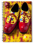 Clown Shoes And Balls Spiral Notebook